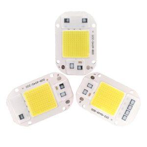 LED COB سفید مهتابی 220V با درایور داخلی