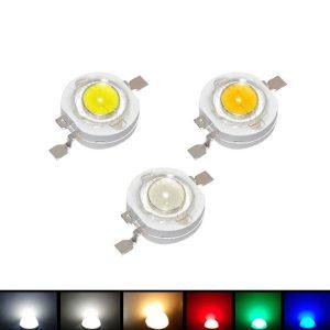 1W LED سبز بسته 5 تایی