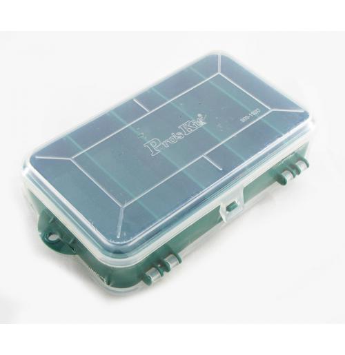 جعبه قطعات سبز دو تکه Proskit مدل 103-132C