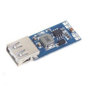 ماژول رگولاتور DC به DC کاهنده دارای ورودی 6V تا 26V و خروجی ثابت 3A 5V USB