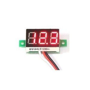 ماژول ولتمتر ۳ دیجیت DC 0-100V سایز ۰٫۳۶ اینچ