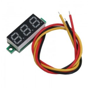 خرید ماژول ولتمتر 3 دیجیت DC0-100V سایز 0.28 اینچ