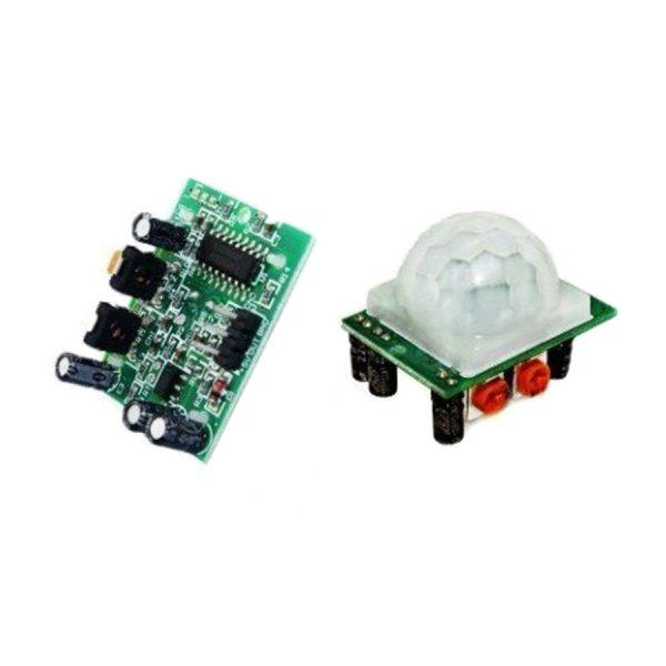 ماژول سنسور حرکت مادون قرمز HC-SR501 - تشخیص حرکت بدن - PIR