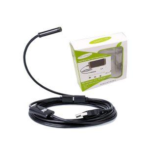 دوربین (آندوسکوپ) 1.3 مگاپیکسل دارای ارتباط USB سازگار با ویندوز و اندروید ضد آب