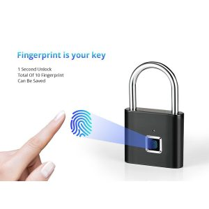 قفل هوشمند بایومتریک با اثر انگشت