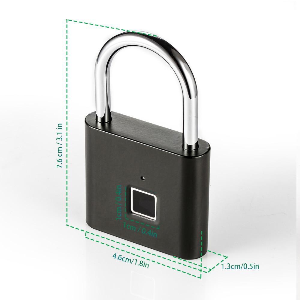 قفل هوشمند بایومتریک با اثر انگشت ضد آب مدل P3