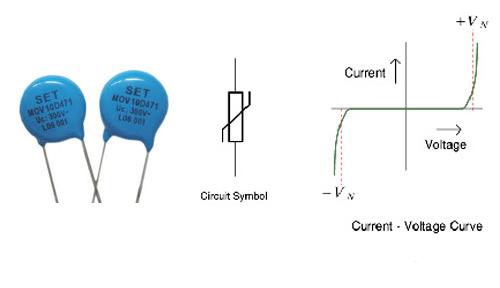 وریستور یا مقاومت وابسته به ولتاژ (Voltage Dependent Resistor) یا VDR