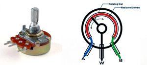 پتانسیومتر (Potentiometer)