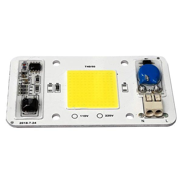 LED COB سفید نچرال 50W 220V آنتی شوک دار - مدل T40/50