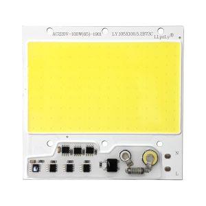 LED COB مهتابی 100W 220V با درایور داخلی - LY.105X100
