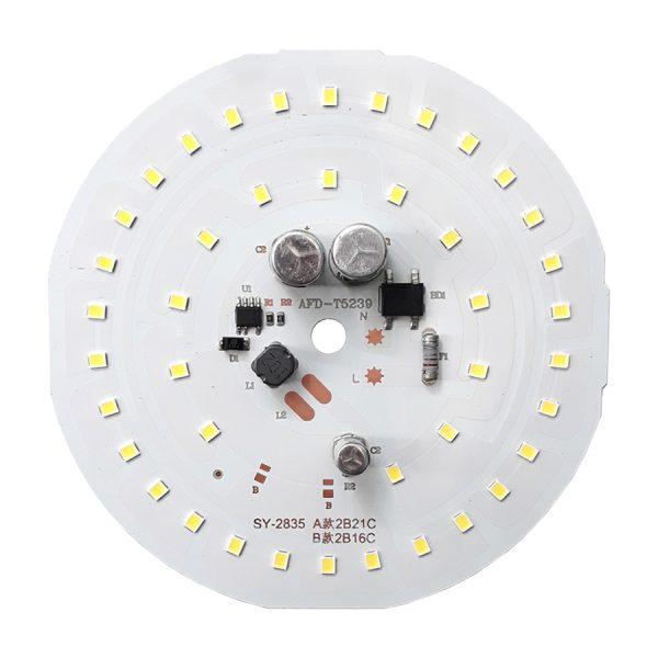 ال ای دی 50 وات 220 ولت گرد سفید مهتابی قطر 110 میلیمتر