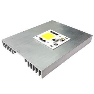 قیمت و خرید هیت سینک آلومینیومی پروژکتوری 150x120x17mm