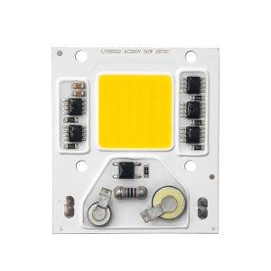 قیمت و خرید LED COB آفتابی 50W 220V با درایور داخلی - LY58X52