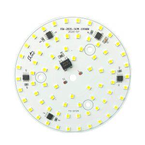 ال ای دی 50 وات 220 ولت گرد سفید مهتابی قطر 100 میلیمتر Shine