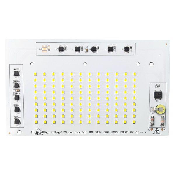 ال ای دی پروژکتوری SMD 100w 220v سفید مهتابی
