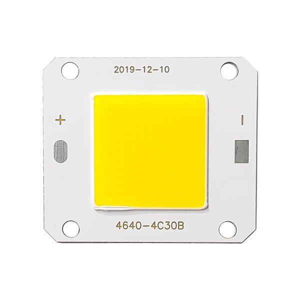 ال ای دی COB پروژکتوری 50 وات 12 ولت سفید آفتابی مدل 4C30B