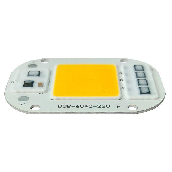 ال ای دی COB سفید آفتابی 50W 220V با درایور داخلی 6040