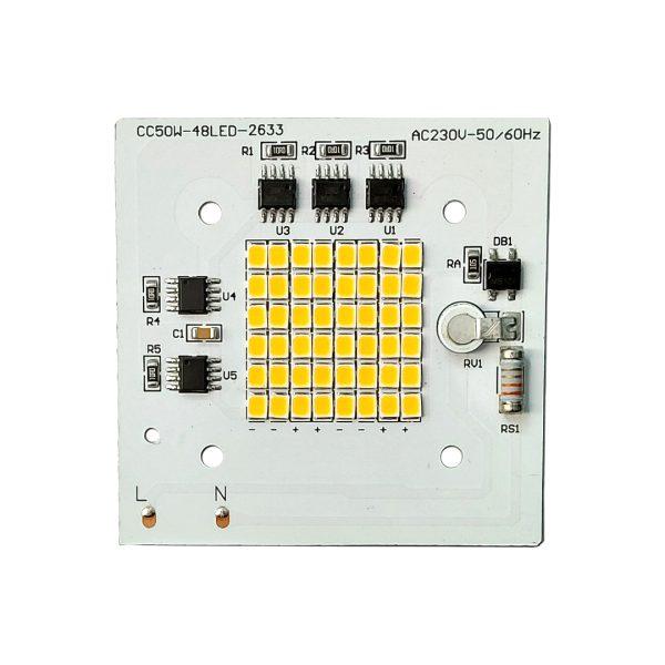 ال ای دی پروژکتوری SMD 50w 220v سفید آفتابی