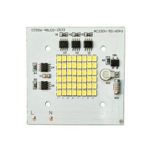 ال ای دی پروژکتوری SMD 50w 220v سفید مهتابی