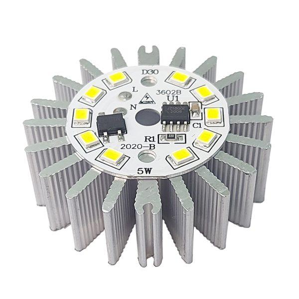 هیت سینک (خنک کننده) آلومینیومی لامپی و لوستری 46x15mm