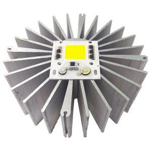 هیت سینک (خنک کننده) آلومینیومی پروژکتوری 161x53mm