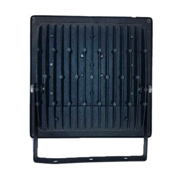 قاب پروژکتور آلومینیومی 100 وات ضدآب پایه دار 225x226x55mm