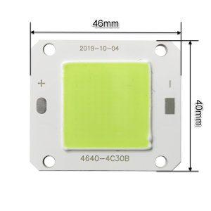 ال ای دی COB پروژکتوری 50 وات 12 ولت سبز مدل 4C30B