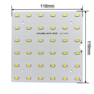 ال ای دی 18 وات 300 میلی آمپر SMD سفید مهتابی مربع