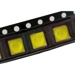 SMD LED پکیج 5050 UV ماوراء بنفش 6.5V 2W