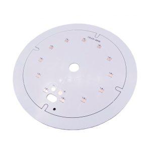 برد PCB آلومینیومی گرد LED 2835 قطر 100 میلیمتر
