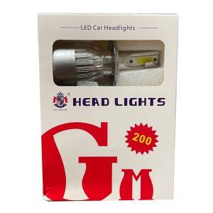 لامپ هدلایت خودرو گلف میلانو مدل H4 بسته 2 عددی
