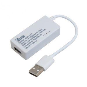 ماژول نمایش ولتاژ، جریان و میزان شارژ USB و Micro USB مدل KCX-017