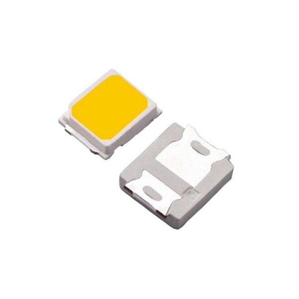 SMD LED پکیج 2835 سفید طبیعی 9V 0.5W بسته 20 تایی