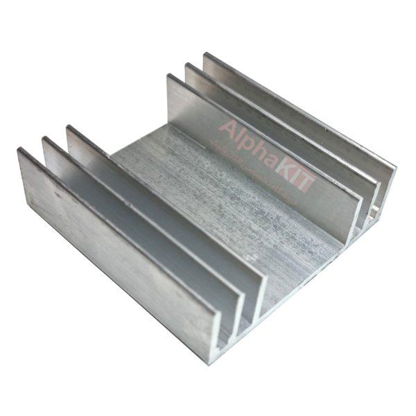 هیت سینک شانه ای آلومینیومی 65X65X20mm