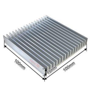 هیت سینک 17 پره آلومینیومی 100X100X15mm