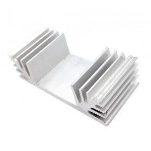 هیت سینک 18 پره آلومینیومی 65x30x20mm